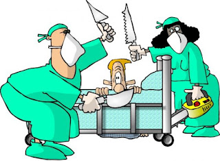 Funny surgeon cartoon picture