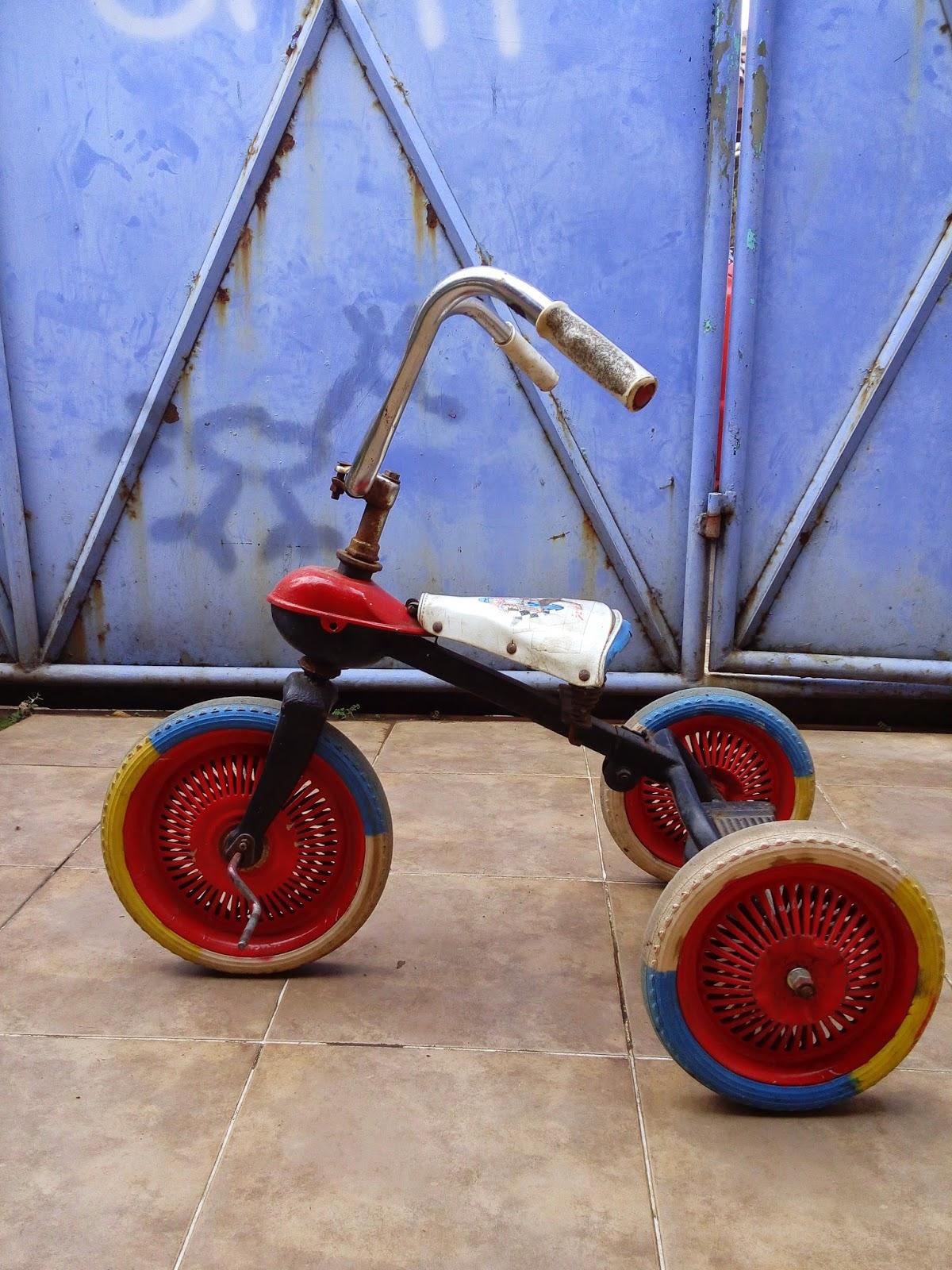 Kebon Kolot Old Timer Sepeda Anak Roda Tiga Custom Modifikasi