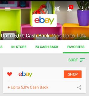 Belanja di Ebay bisa dapat Casback Jika  melalui Ebates