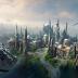 Imagens da construção da área temática Star Wars Land na Disneyland California