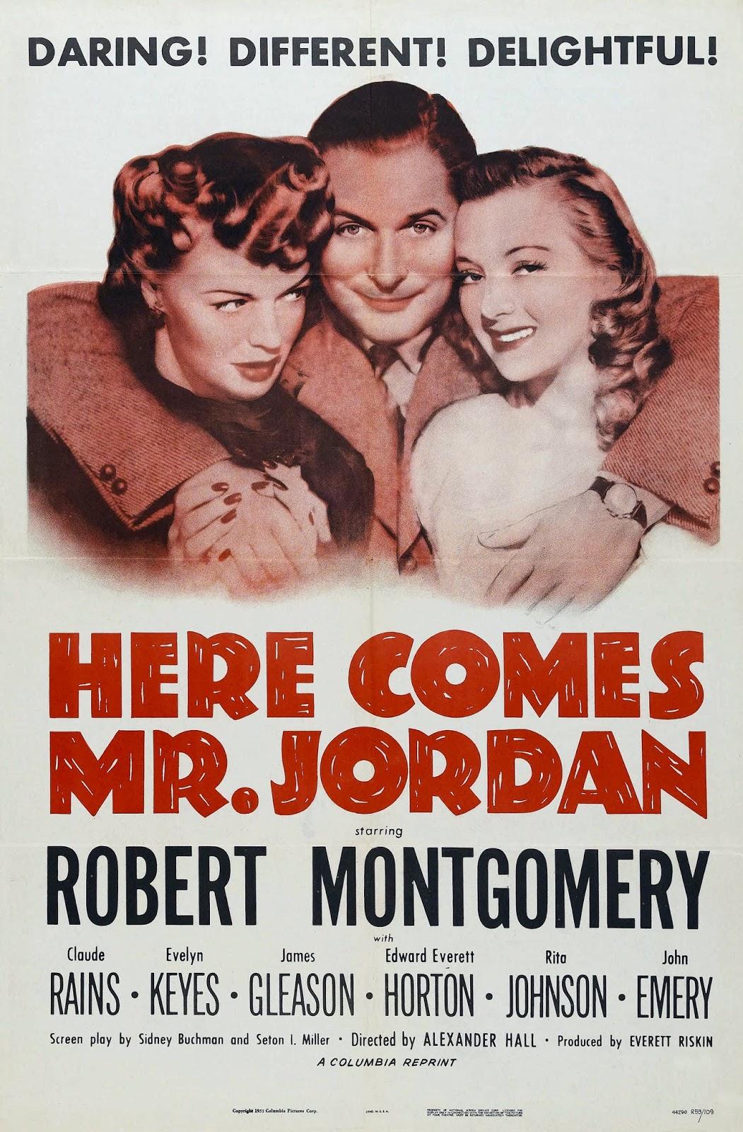 back to golden days  film friday   u0026quot here comes mr  jordan