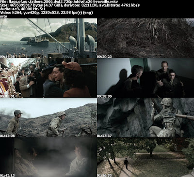 Download Flags of Our Fathers (2006) BluRay 720p Terbaru