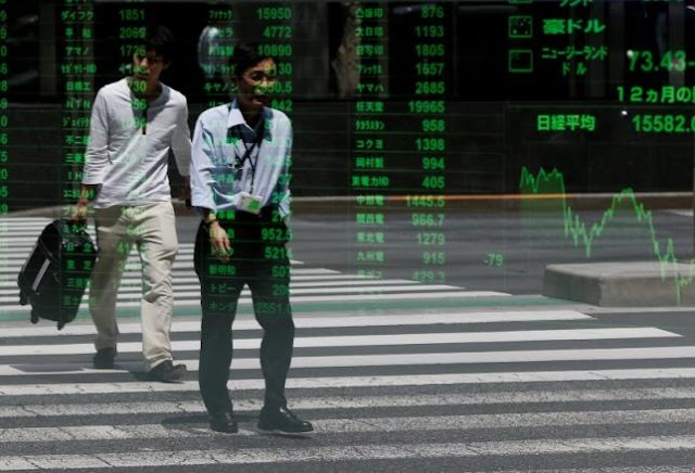 #Business : Asian shares mostly higher on strong manufacturing data