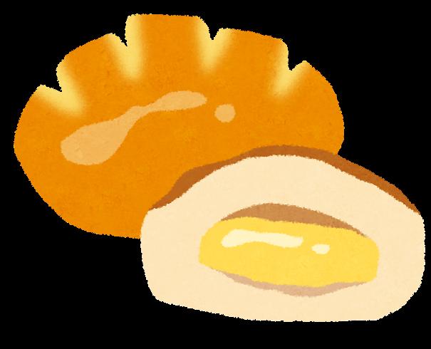 クリームパンのイラスト かわいいフリー素材集 いらすとや