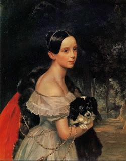 Женский портрет в российской живописи