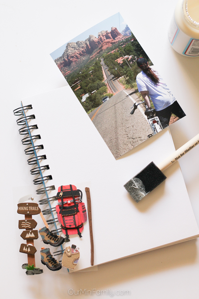 Travel Book Cover Ideas : Diy travel journal our mini family