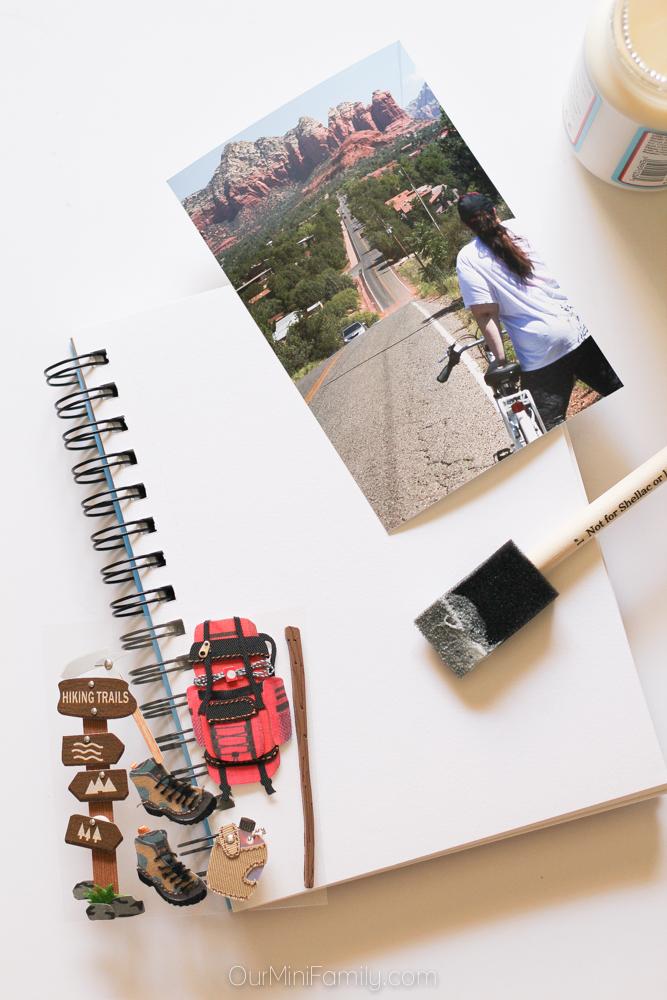 Diy Travel Journal Our Mini Family
