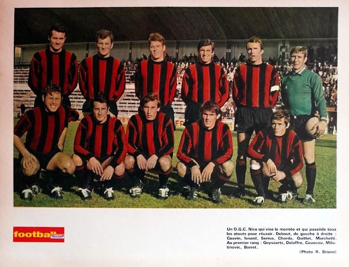 O.G.C NICE 1969-70.