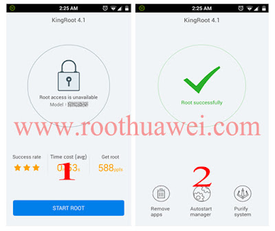 How to root Huawei Ascend Y540 using kingroot.apk