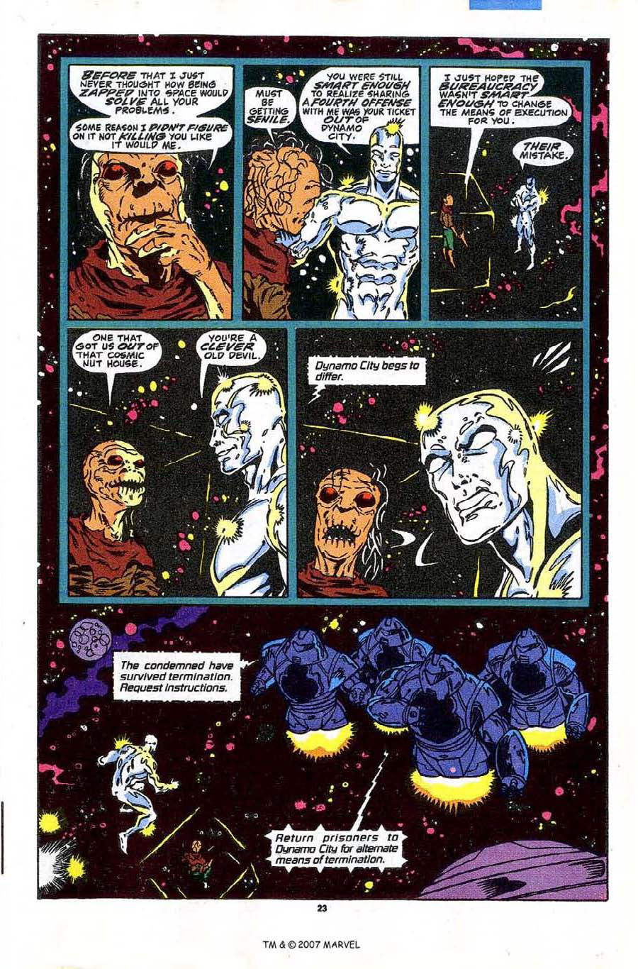 Read online Silver Surfer (1987) comic -  Issue #43 - 25