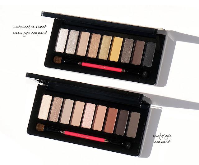 MAC Nutcracker Sweet - Warm and Smoky Eye Compacts