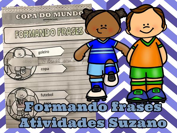 copa do mundo, formando frases, leitura, interpretação, língua portuguesa