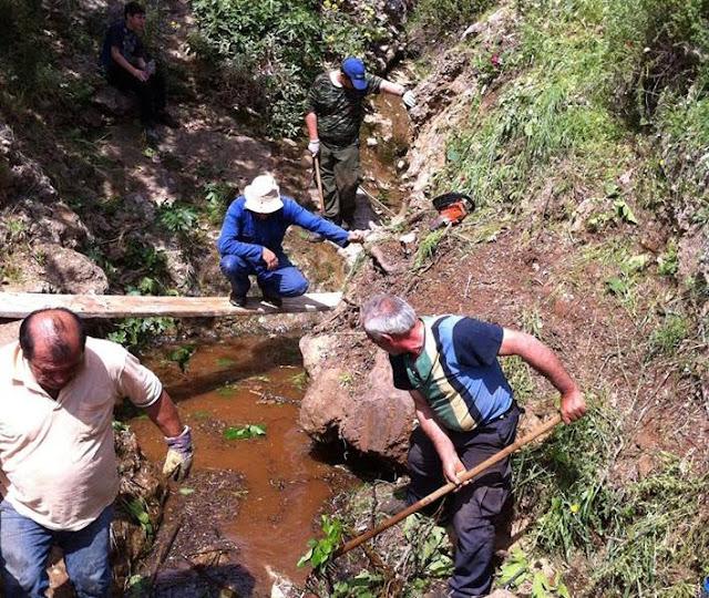 Εθελοντική δράση στα πλαίσια του LET'S DO IT GREECE στις πηγές και την κοίτη του ποταμού Αστερίωνα