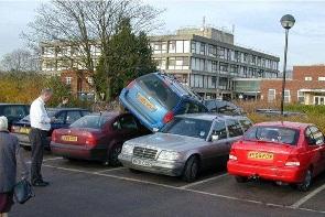 Parking en el centro de Logroño