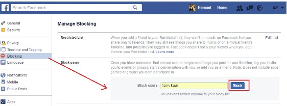 how to tell if someone blocked you from seeing their posts on facebook