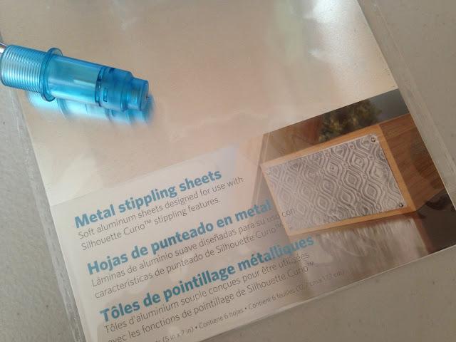 Silhouette Curio, Silhouette tutorial, stipple