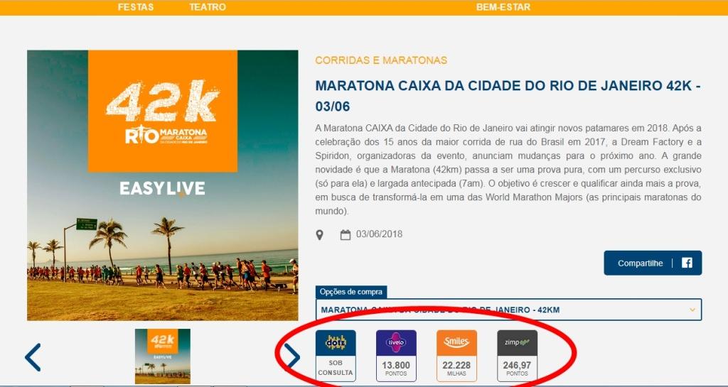 Inscrições para a Maratona do Rio