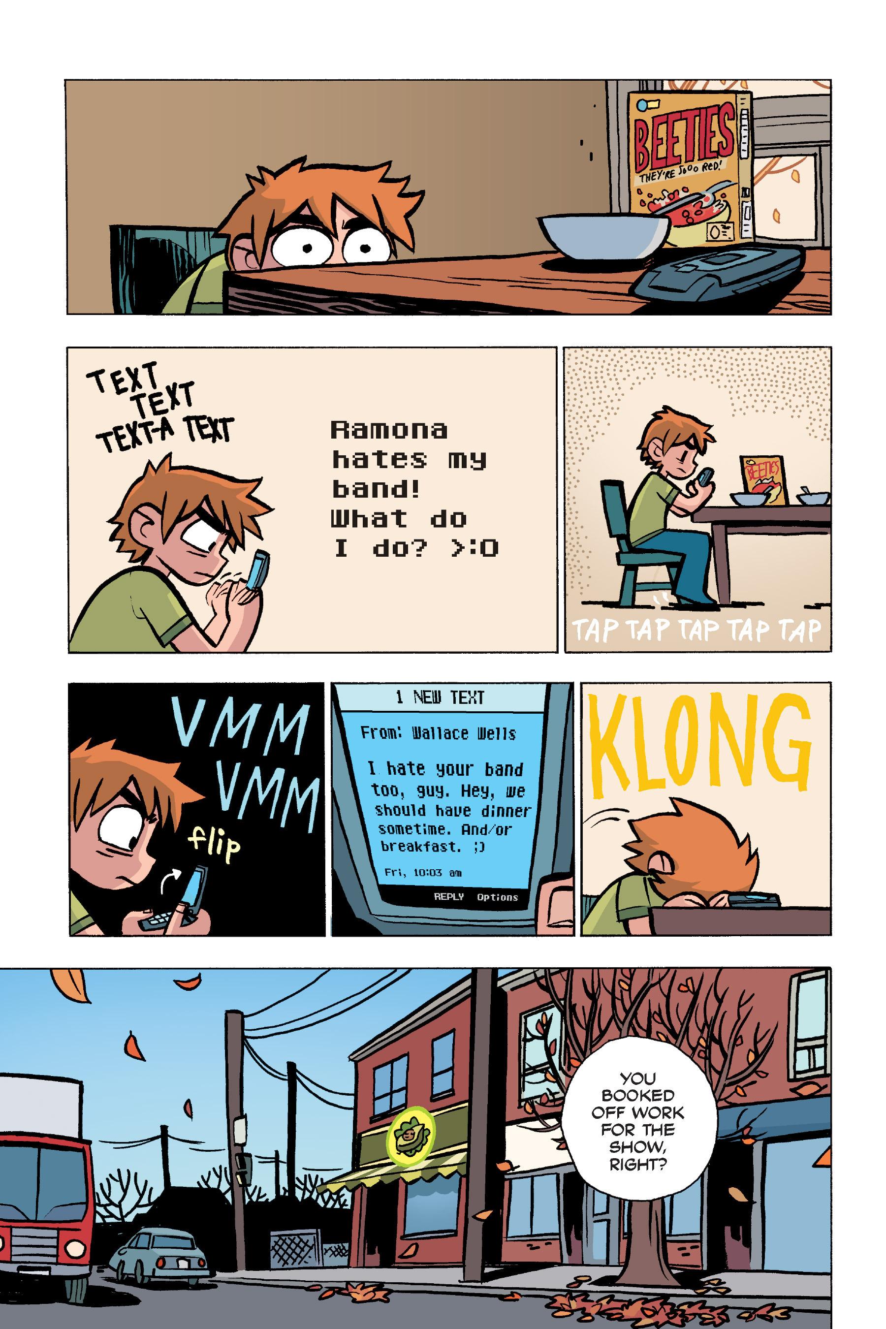 Read online Scott Pilgrim comic -  Issue #5 - 44