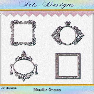 Metallic frames