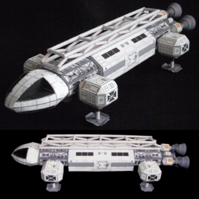 Space 1999 Eagle Paper Model