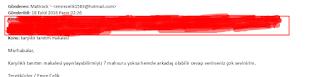 tanıtım yazısı maili