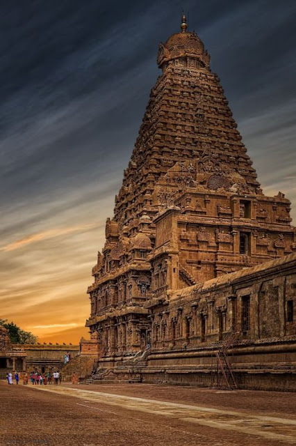 Brihadeeswara Tapınağı/Tamil-Nadu