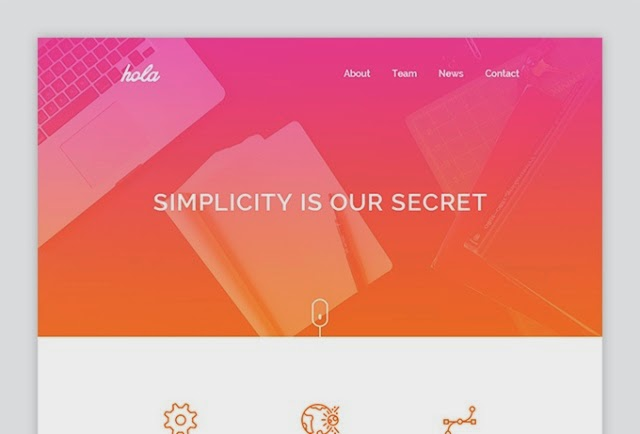 Hola - Email HTML Template