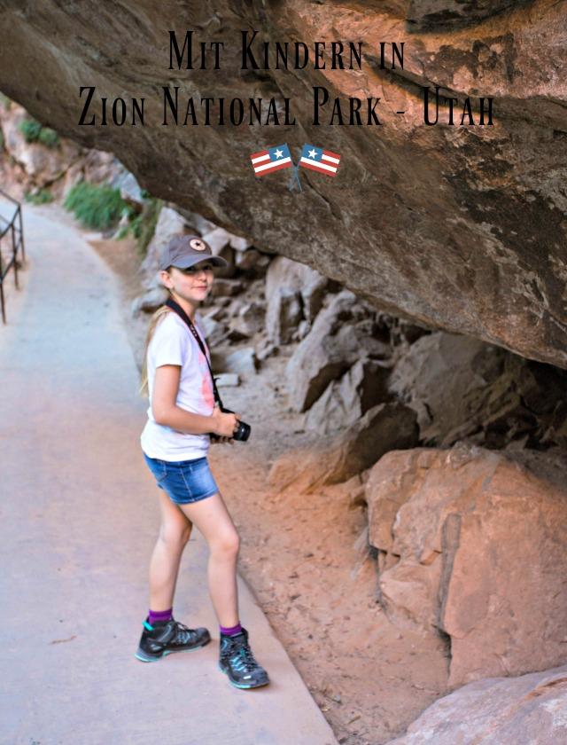 unterwegs mit Kinder im Zion National Park - Frühstück bei Emma