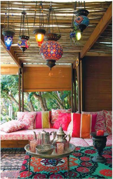 My 10 Favorite Bohemian Patio Ideas. | The House of Boho on My Patio Design  id=19673