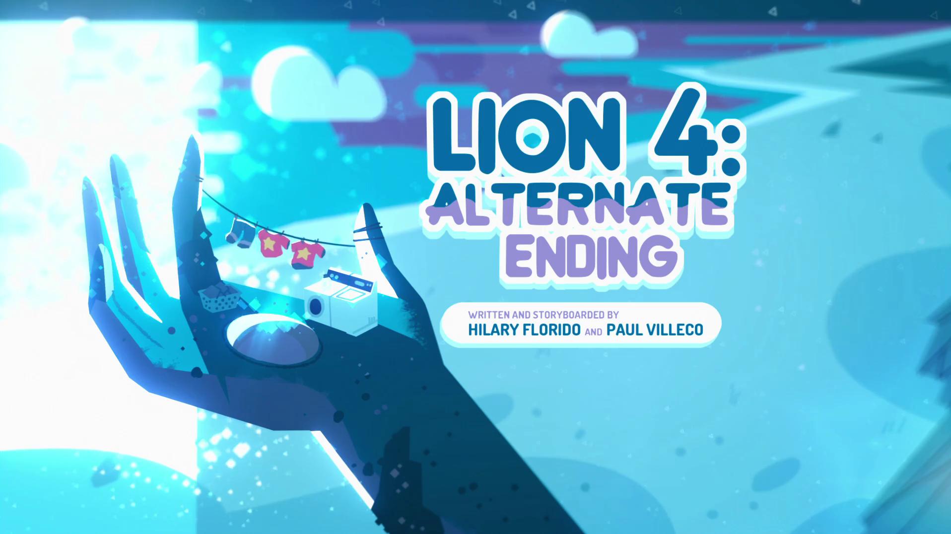 Steven Universo - Leão 4: Final Alternativo