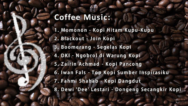 kopi coffee music lagu musik mp3 cover album