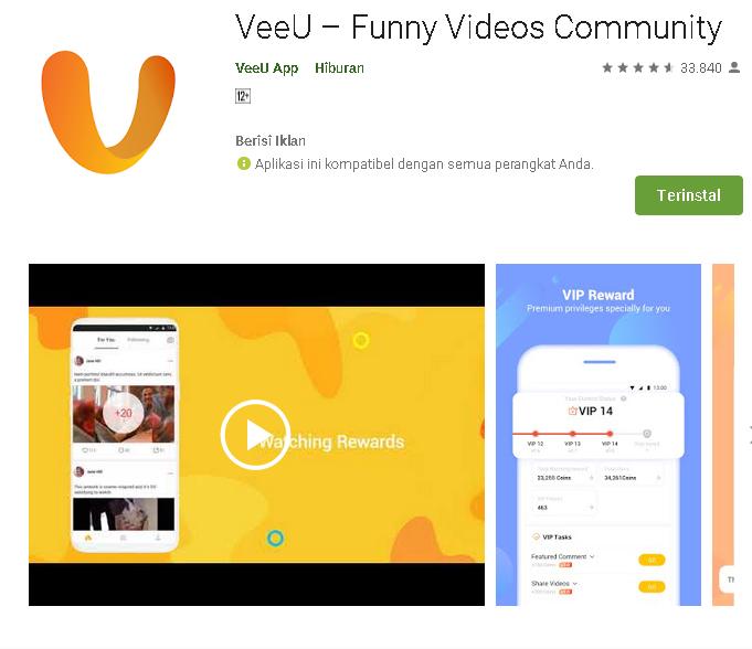 Cara Auto Claim ( NUYUL) Aplikasi Veeu Di Termux Android - Kumpulan