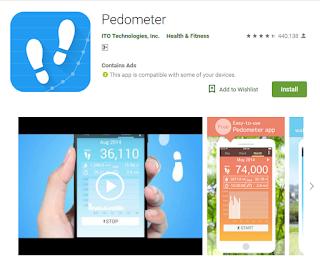 aplikasi pedometer