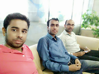 Sajal Mondal with Hasib and Anamul