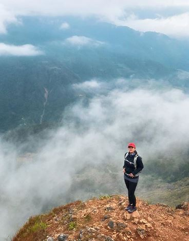 Angel Locsin Enjoys The View In Mount Costa