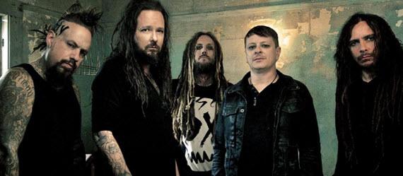 0k Korn en concierto en el...