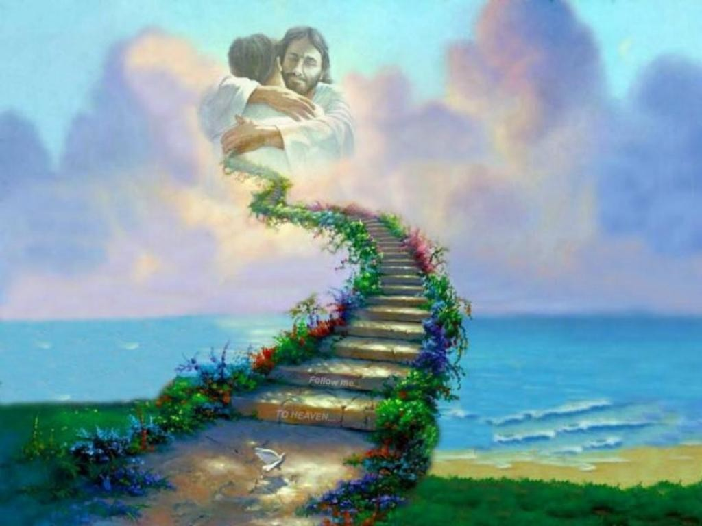 Рай к богу на небо с картинками