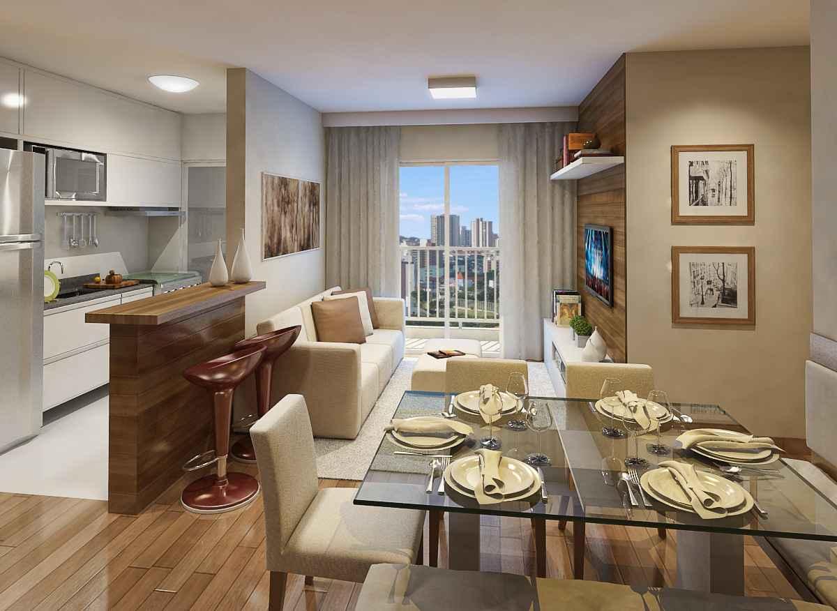 Construindo Minha Casa Clean Apartamentos 5 Dicas De Ouro Para  -> Sala De Estar Apartamento Decoracao