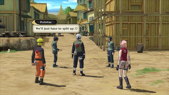 Naruto Shippuden Ultimate Ninja Storm 3 Full Burst PC Captura 2
