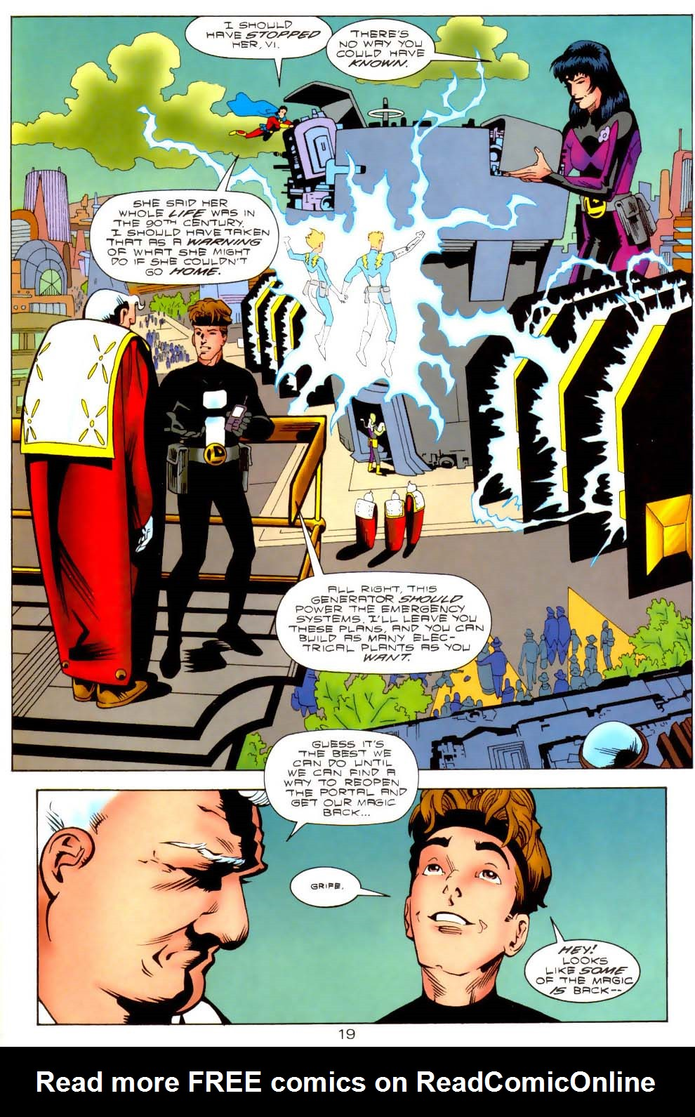 Legion of Super-Heroes (1989) 110 Page 19