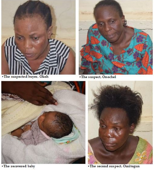Story Of How Desperate Nurse Sold New Born Baby In Lagos