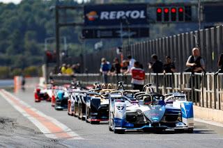 Formula E schedule.