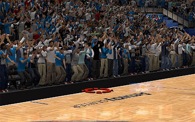 NBA 2K13 Orlando Magic Audience Clothes