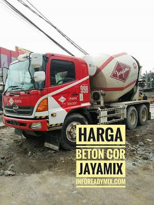 Harga Beton Jayamix Murah Per M3 2017 - 2018