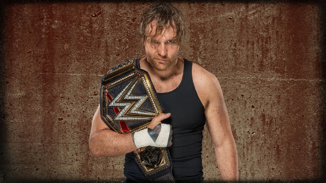WWE Champion Dean Ambrose Wallpaper HD
