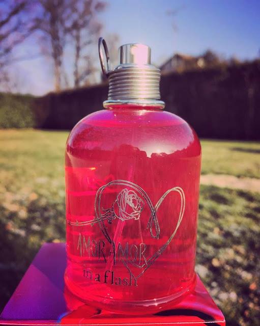 origines parfums amor amor in a flash cacharel