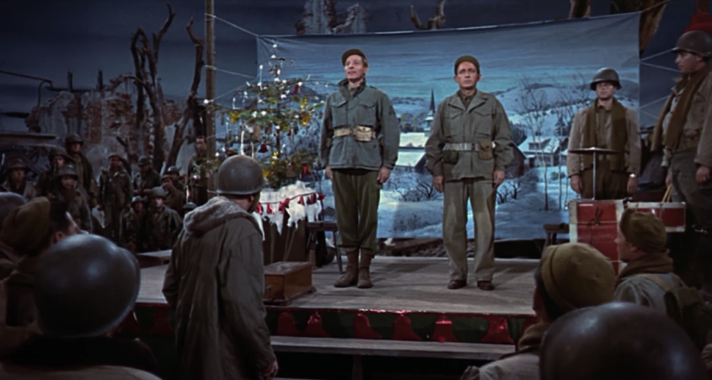 an epiphany of sorts occurred earlier this week as the sherpa household took its first steps into this decidedly snow less advent season white christmas - The Movie White Christmas
