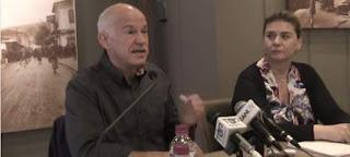 Επεισόδιο Παπανδρέου με δημοσιογράφο: Εσύ πείνασες; Είχες θέρμανση σπίτι σου πρόεδρε; [βίντεο]