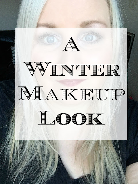 A Sparkly Winter Makeup Look