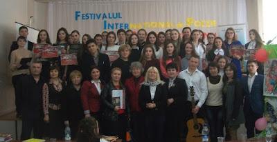 Cel mai original Festival de Poezie din Moldova dans festival de poezie